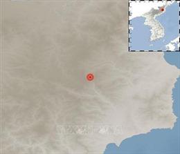 Triều Tiên: Động đất cường độ 2,8 gần bãi thử hạt nhân Punggye-ri