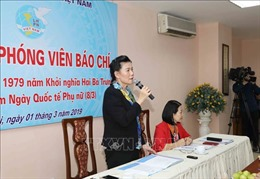 Chung tay hành động vì sự an toàn của phụ nữ và trẻ em