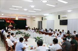 Đoàn công tác Tiểu ban Văn kiện Đại hội XIII làm việc tại Khánh Hòa