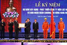 Phó Thủ tướng Vương Đình Huệ dự kỷ niệm 60 năm xây dựng Công ty Điện lực Nghệ An
