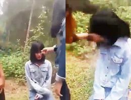 Nhóm 5 học sinh bắt nữ sinh lớp 7 quỳ để đánh hội đồng