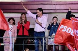 Đảng PSOE của Thủ tướng Tây Ban Nha Sanchez giành chiến thắng
