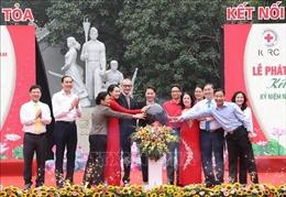Chủ tịch Quốc hội Nguyễn Thị Kim Ngân dự Lễ phát động 'Tháng Nhân đạo' 2019