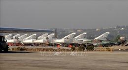 Căn cứ không quân của Nga ở Syria tiếp tục bị nã rocket
