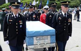 Mỹ tạm dừng các nỗ lực tìm kiếm hài cốt binh sỹ ở Triều Tiên