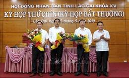 Ông Trịnh Xuân Trường được bầu giữ chức Phó Chủ tịch tỉnh Lào Cai