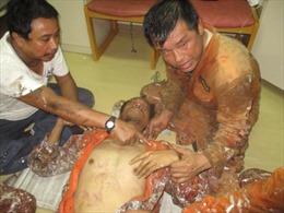 Trợ giúp y tế một thuyền viên nước ngoài gặp nạn trên vùng biển Việt Nam