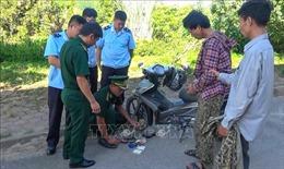 Bắt đối tượng giấu ma túy trong lọc gió xe máy mang từ Lào về Việt Nam