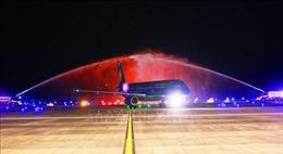Sân bay Vân Đồn đón chuyến bay đầu tiên kết nối với Hàn Quốc