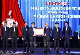 Thủ tướng dự Lễ kỷ niệm 90 năm Ngày thành lập Công đoàn Việt Nam