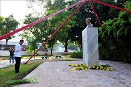 Dâng hoa tưởng nhớ Chủ tịch Hồ Chí Minh tại La Habana, Cuba