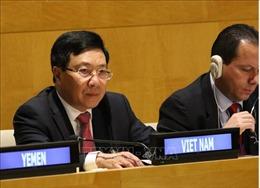 Phó Thủ tướng Phạm Bình Minh tham dự hội nghị G77, tiếp xúc song phương với các nước