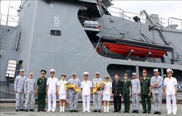 Tàu hải quân Philippines thăm hữu nghị Việt Nam