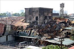 Vụ cháy Công ty Rạng Đông: Cô lập và tẩy độc kho cháy rộng 6.000m2