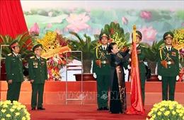 Trọng thể kỷ niệm 70 năm Ngày truyền thống Quân tình nguyện và Chuyên gia Việt Nam tại Lào