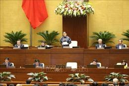 Kỳ họp thứ 8, Quốc hội khóa XIV: Thông cáo báo chí số 15