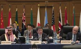 Hội nghị G20: Ngoại trưởng Nhật Bản nhấn mạnh sự cần thiết của thương mại tự do