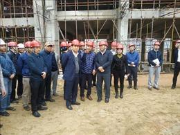 Hà Nội kiểm tra tiến độ dự án nhà máy đốt rác phát điện lớn nhất Việt Nam