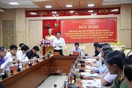 Đoàn công tác về phòng, chống tham nhũng làm việc tại Quảng Ngãi