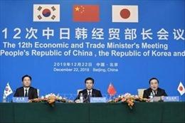 Đẩy mạnh đàm phán tự do thương mạigiữa Trung Quốc-Nhật Bản-Hàn Quốc