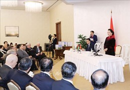 Chủ tịch Quốc hội gặp cựu chiến binh Belarus từng tham gia chiến đấu tại Việt Nam