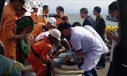 Cứu nạn khẩn cấp thuyền viên nước ngoài bị đột quỵ trên biển