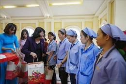Phó Chủ tịch nước Đặng Thị Ngọc Thịnh thăm, tặng quà Tết tại Hòa Bình