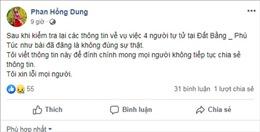 Thông tin 4 người ở Gia Lai tự tử vì dưa hấu rẻ trên facebook là sai sự thật