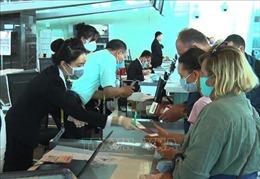 Đưa trên 180 du khách Nga từ Việt Nam về nước
