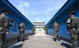 Nhiều phát súng từ Triều Tiên bắn trúng trạm gác Hàn Quốc ở khu phi quân sự liên Triều