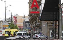 Vụ bắt cóc con tin ở Moskva: Trụ sở ngân hàng bị gài mìn
