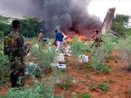 Rơi máy bay chở vật tư y tế tại Somalia, 6 người thiệt mạng