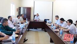 Thứ trưởng Bộ NN&PTNT làm việc với tỉnh Thanh Hóa về tái đàn lợn sau dịch bệnh