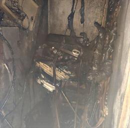 Cháy chung cư A5- Đền Lừ: Giải cứu 4 người mắc kẹt trong thang máy