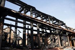 Liên tiếp xảy ra các vụ cháy di tích