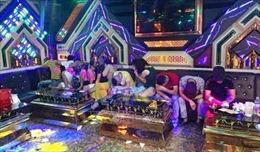 Bắt quả tang 20 đối tượng sử dụng ma túy trong quán karaoke
