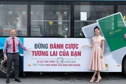 Hai Hoa hậu tham gia hưởng ứng Ngày toàn dân phòng, chống mua bán người (30/7)