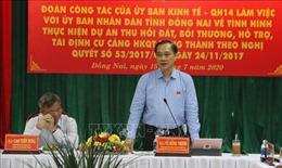 Giải quyết kịp thời vướng mắc trong giải phóng mặt bằng sân bay Long Thành