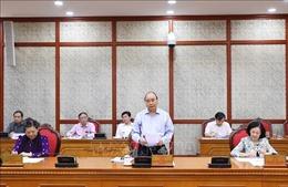 Bộ Chính trị làm việc về chuẩn bị đại hội các đảng bộ trực thuộc Trung ương nhiệm kỳ 2020 - 2025