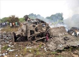 Máy bay chở hàng bị rơi tại Nam Sudan khiến 17 người thiệt mạng