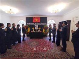 Lễ viếng nguyên Tổng Bí thư Lê Khả Phiêu tại Venezuela, Ba Lan và Hungary