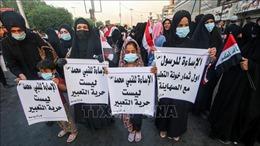 Biểu tình ở Iraq phản đối báo Pháp đăng tranh biếm họa nhà tiên tri Mohammed