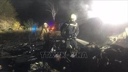 Rơi máy bay quân sự tại Ukraine: Ít nhất 22 người bị thiệt mạng