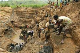 Ít nhất 50 người bị thiệt mạng trong vụ sập mỏ vàng tại Congo