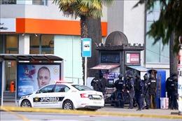 20 con tin bị bắt giữ tại một ngân hàng ở Gruzia