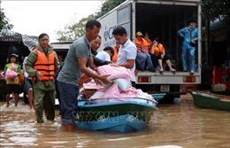 Kịp thời ủng hộ 5 tỉnh miền Trung khắc phục khó khăn do mưa lũ