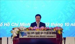 Phó Thủ tướng Phạm Bình Minh dự lễ khai khóa 2020 Đại học Quốc gia TP Hồ Chí Minh