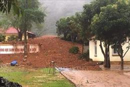 Sạt lở đất đặc biệt nghiêm trọng tại Quảng Trị, khả năng nhiều người bị vùi lấp