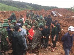 Sạt lở đất làm vùi lấp 22 cán bộ, chiến sỹ tại Quảng Trị: Đã tìm thấy 3 thi thể