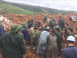 Sạt lở đất vùi lấp 22 cán bộ, chiến sỹ tại Quảng Trị: Đã tìm thấy thi thể đầu tiên